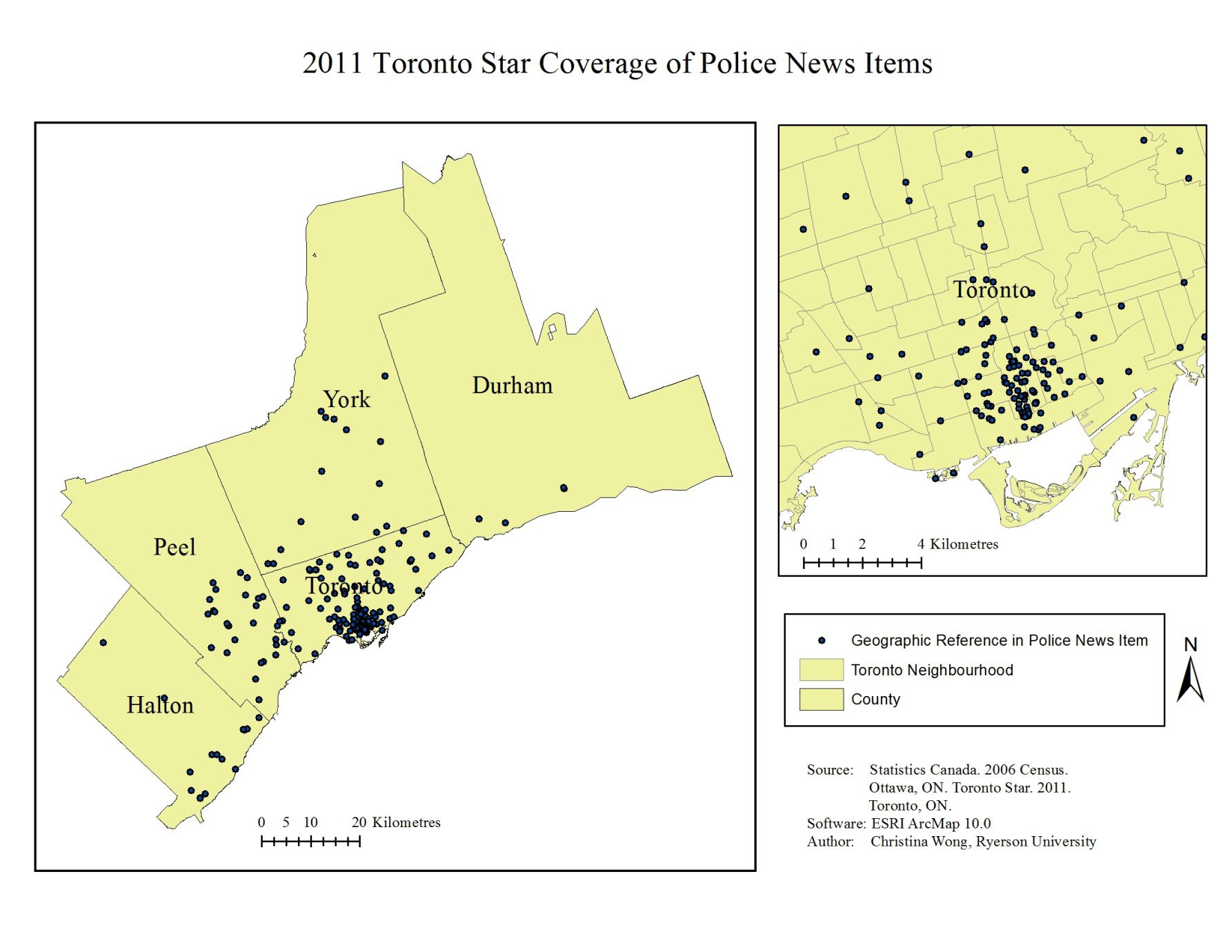 Figure 1. Toronto Star crime coverage