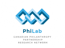Logo of PhiLab - Canadian philanthropy partnership research network